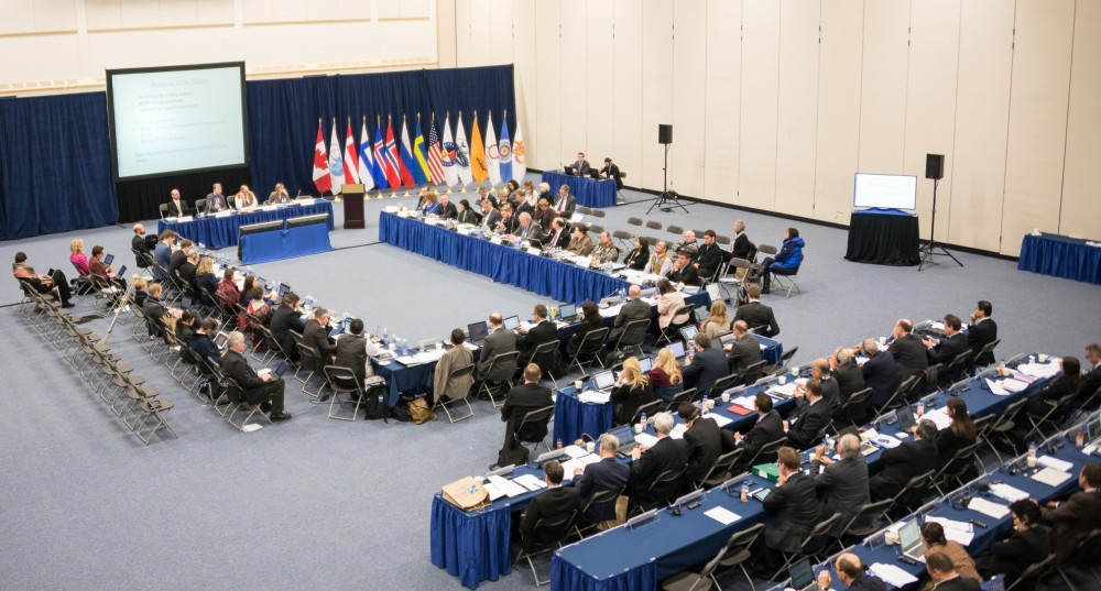 The Arctic Council meets in Yellowknife, Canada in 2014. Photo by Arctic Council.