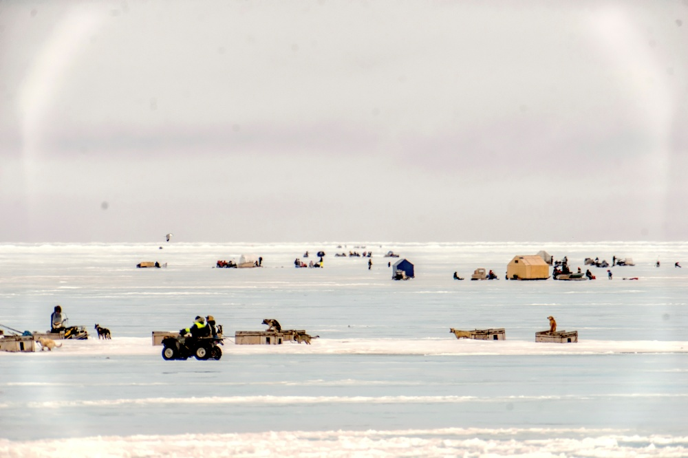 Rock Cod Ice Fishing, Arviat, Nunavut, Canada. Photo by Paul Aningat.